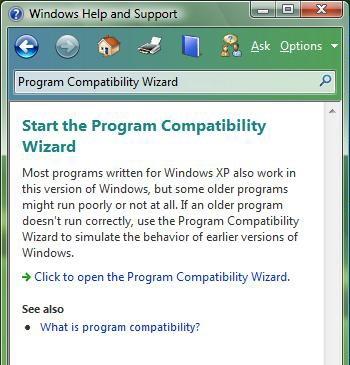 start compatibility