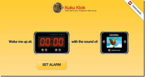 KuKuKlok mainpage