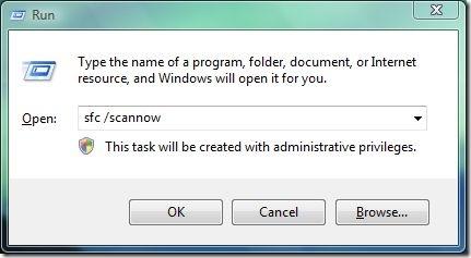 system scanning