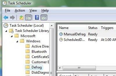 task manager defrag