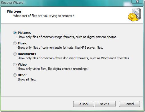 file type recuva
