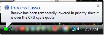 ballon notification process lasso