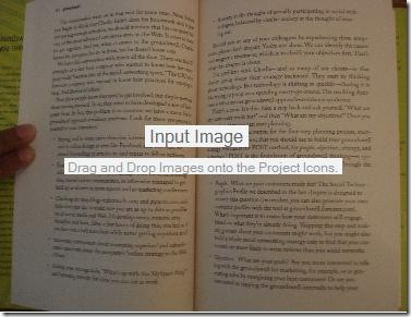 book scan