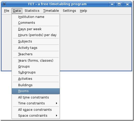 main form data tab