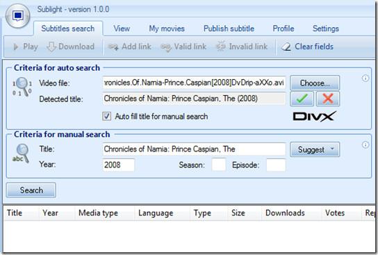 search subtitles
