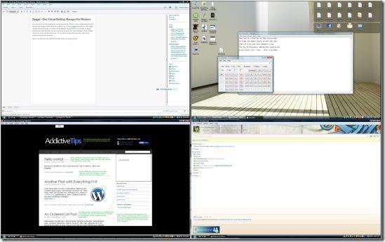 dexpot desktop manager