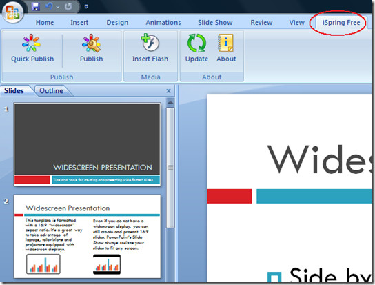 ispring convert ppt into swf