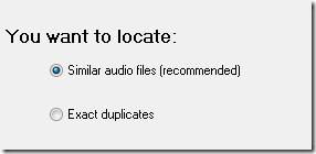 similiar audio files