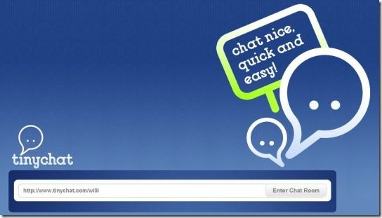 tinychat - enter chat room