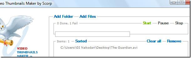 adding videos -  thumbnail maker