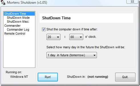 mortens shutdown main