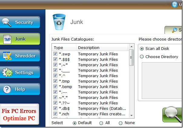 removing temporary files