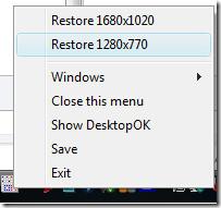 restoring desktop icons