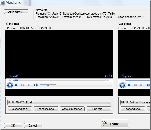 virtual sync subtitles