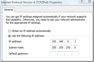 Internet Protocol IP Properties