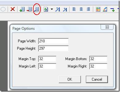 pdf file page options