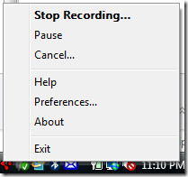 stop goview screen recorder