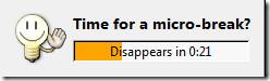 time for micro-break