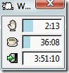 Workrave floating window