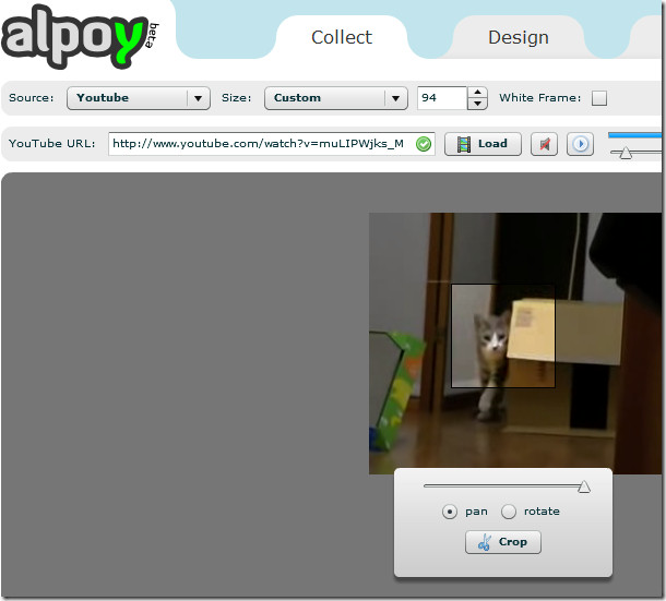 alpoy create avatar from youtube video