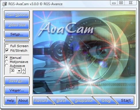 avacam main screenshot