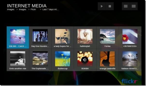 browse flickr - moovida