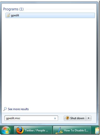gpedit windows 7