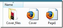 HTML scrapbook files