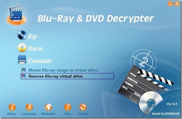 removing blu-ray virtual drive