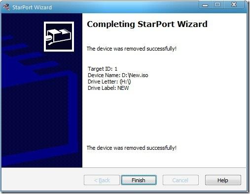 unmount remove blueray virtual drive