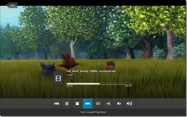 Watching Movie from Local Folder - Moovida