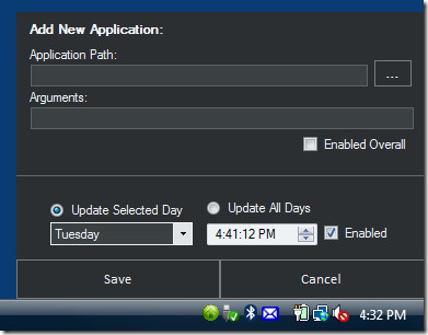add new application to rocket launcher