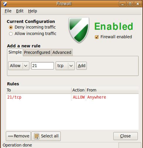 allow-traffic-21-gufw