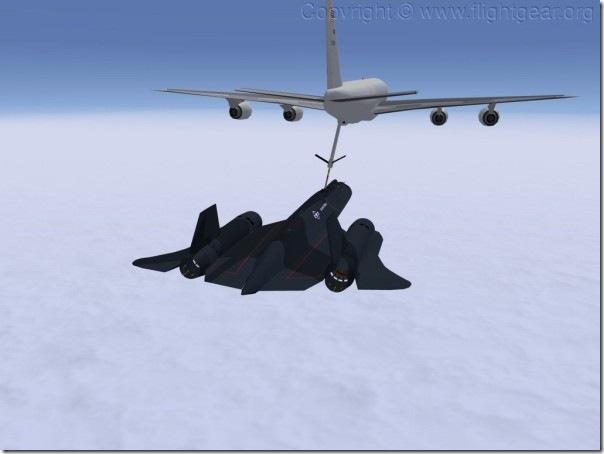 Blackbird-flightgear
