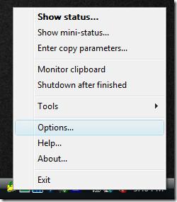 copy handler options
