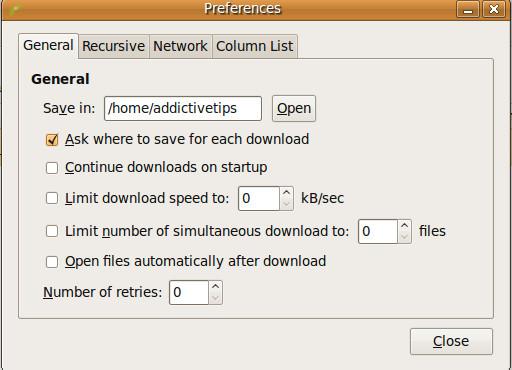 download-preferences
