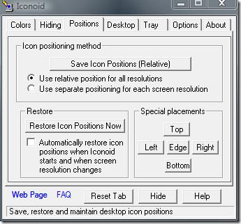 iconoid positions icon screenshot