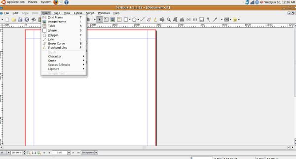 scribus-insert-option