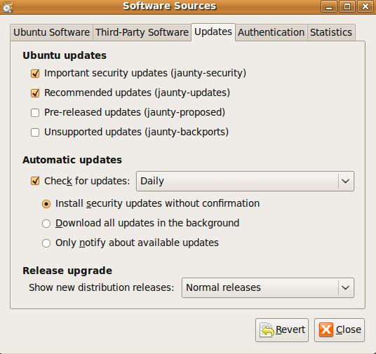 seccurity updates ubuntu