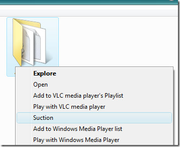 suction move files context menu