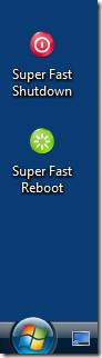 super fast shutdown and reboot