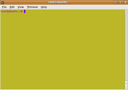 terminal-color-change