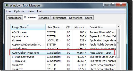 windows task manager auto clicker hider