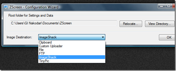 zscreen main screenshot