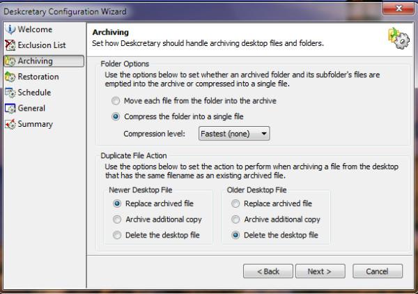 deskcretery-archieving