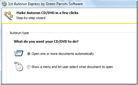 open one or more documents automatically