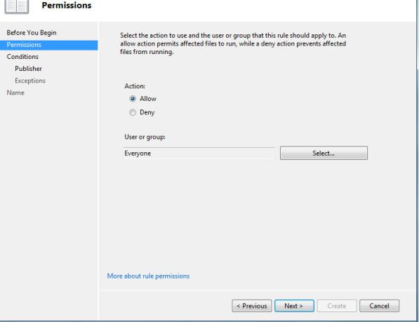 permissions-applocker