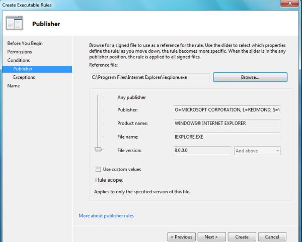 publisher-applocker
