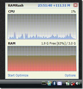 ramrush main screenshot