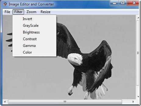 Filter- Formate converter